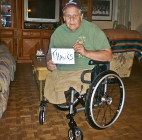 Veteran's Wheelchair